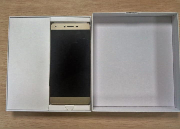 Tecno w5 unboxing picture