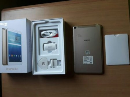 Tecno Droidpad 8D (8II) unboxing Pictures