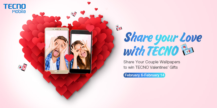 share your love with tecno valentines day