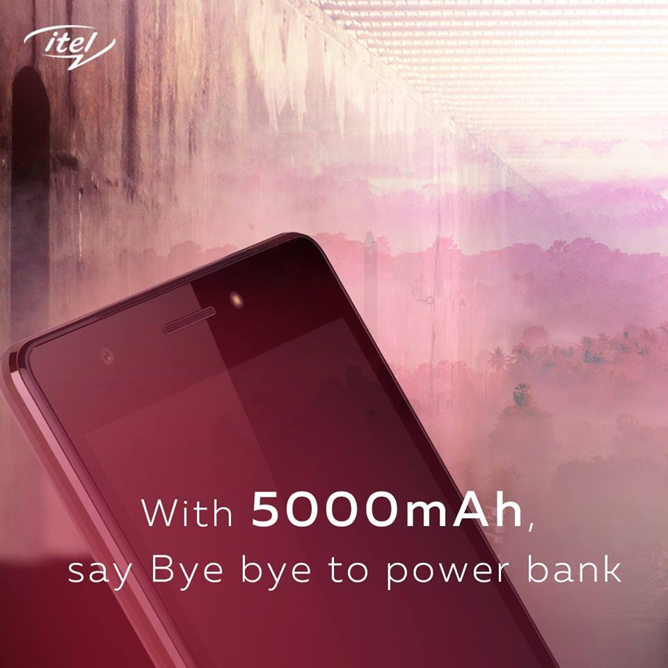 Itel P51 MaxPower battery