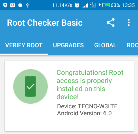 How To Root Tecno W3 LTE In Quick Steps